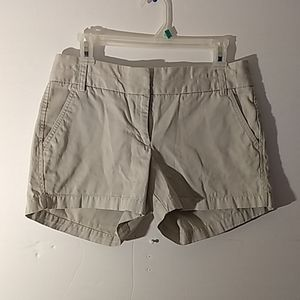 J Crew Chino Shorts SZ 6